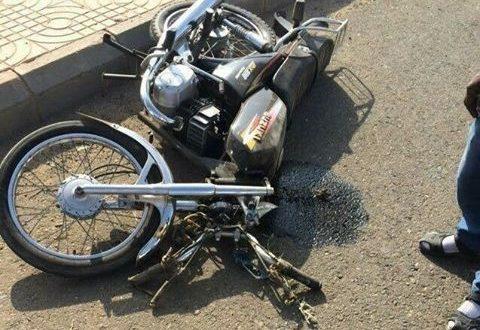 مصرع شخصين فى حادث تصادم دراجة بخارية بالفيوم