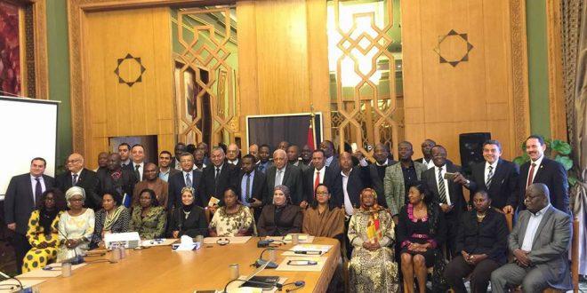 الوفد الإعلامي الإفريقي