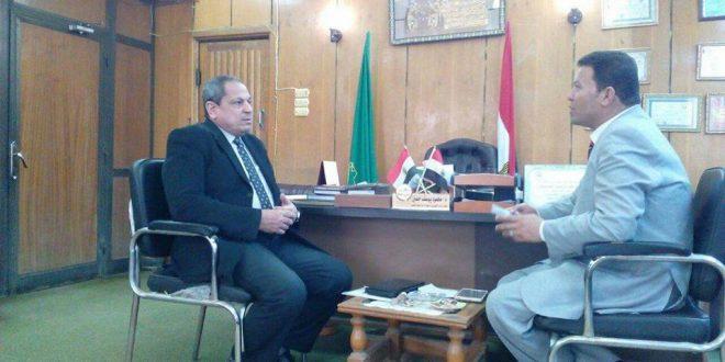 وكيل وزارة التموين : المنيا بلا مشاكل تموينية وانتهاء الاستعدادات لاستقبال موسم توريد القمح