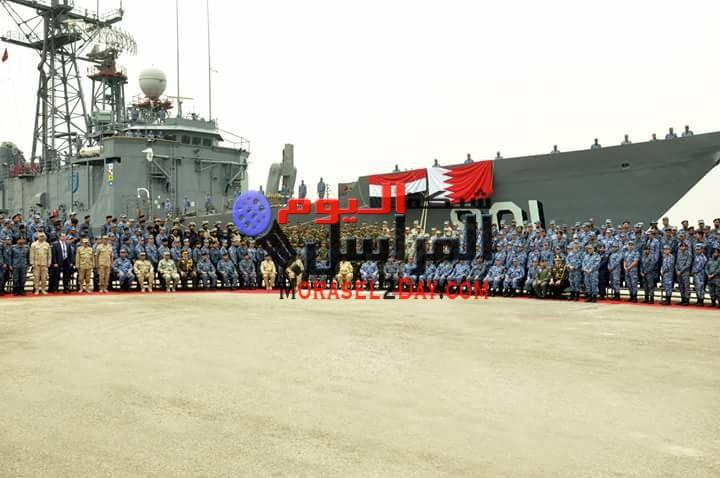 بالصور إنتهاء فاعليات التدريب المصرى البحرينى المشترك حمد – 2 بمشاركة قوات بحرية وجوية وبرية من الجانبين