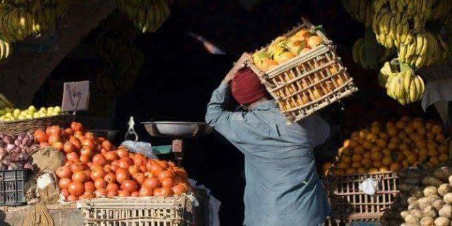 ارتفاع أسعار الخضروات والفاكهة ..والليمون 30 جنيها