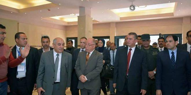 وزير الثقافة ومحافظ كفر الشيخ يتفقدان قصر ثقافة دسوق