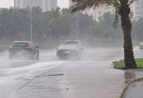 أمطار رعدية ورياح ترابية تسيطر على أنحاء الفيوم