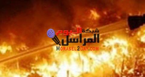السيطرة علي حريق شب في مخبز أفرنجي بمدينة بني سويف