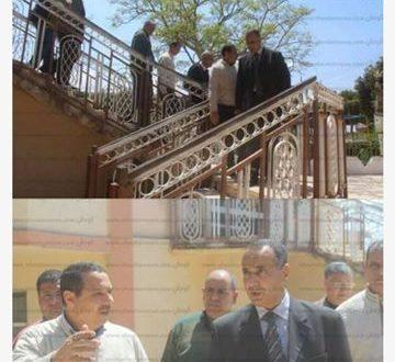 رئيس مدينة دسوق يتفقد استعداد حديقة الأسرة والطفولة لشم النسيم
