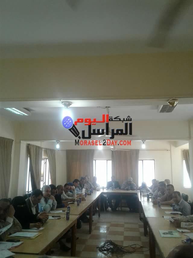 مجلس تنفيذى الواسطى بنى سويف يوافق على عدة مشروعات خدمية بالمدينه