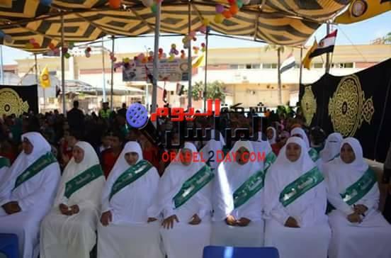 محافظ كفرالشيخ يشهد حفل تكريم الايتام بحديقه صنعاء،