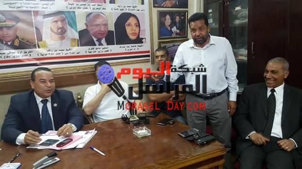 بالصور..تعرف علي أهم ما أتخذ من قرارات خلال إجتماع منظمة الشعوب العربية آمس