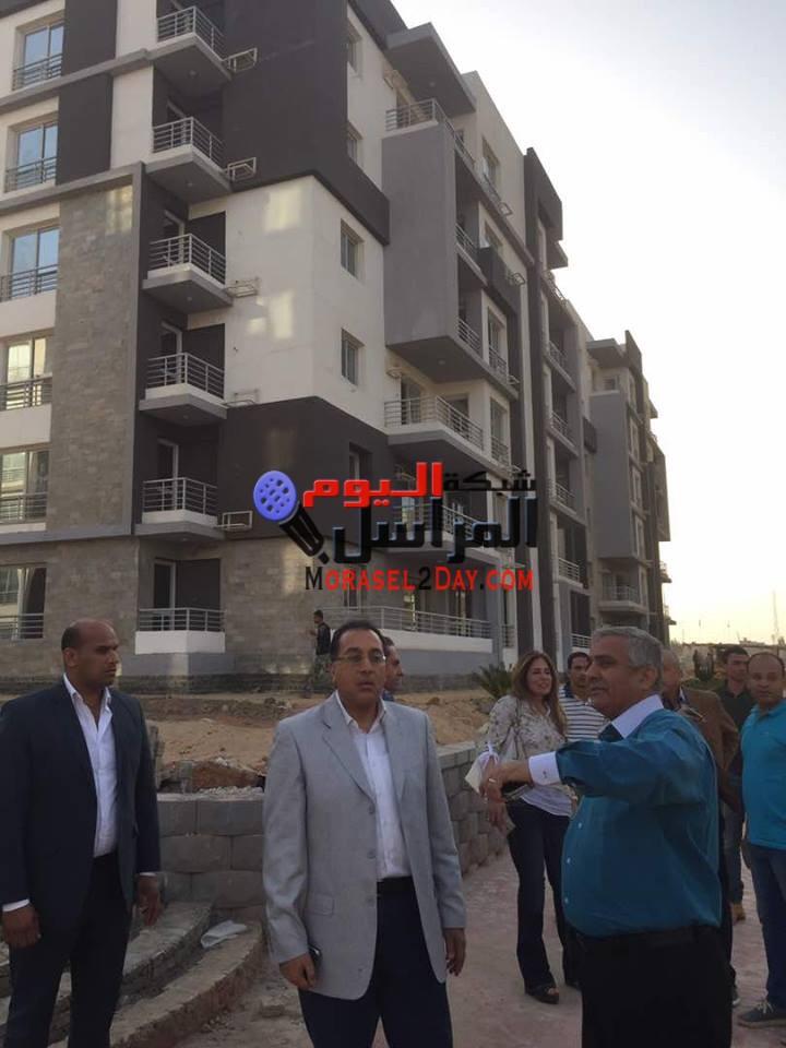 بالصور..مدبولى يتفقد أعمال التطوير بمدينة 6 أكتوبر