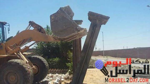 بالصور.. استعادة 20 ألفا و300 فدان من أراضي الدولة في الفيوم