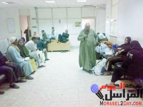 مدير مستشفى جامعة الفيوم ممنوع الا على الكبار وفقط
