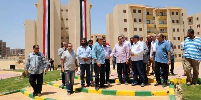 وزير الإسكان يزور الإسكان الاجتماعي بمدينة 6 أكتوبر