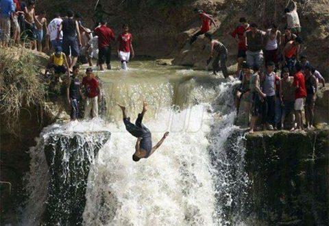 غرق طفلين في شلالات وادى الريان بالفيوم