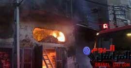 السيطرة على حريق بمخزن أثاث في الفيوم