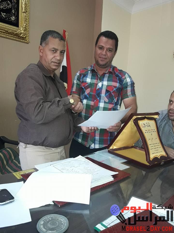 جريدة الانوار اليوم وبوابة الحقيقة نيوز تكرم اليوم السيد المهندس فتحي عثمان رئيس قطاع كهرباء الفيوم
