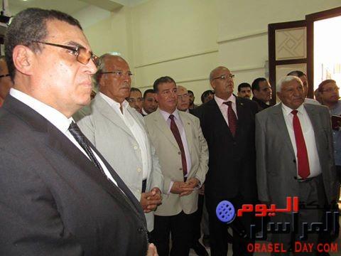 وزير التنمية المحلية يفتتح مدرسة جمال عبدالناصر الثانوية العسكرية بالفيوم