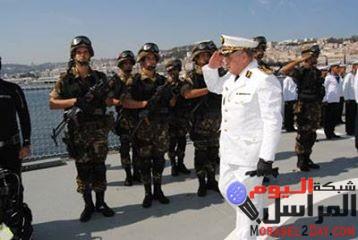 نشاط بحري تدريبي بين بحريتي فرنسا والجزائر