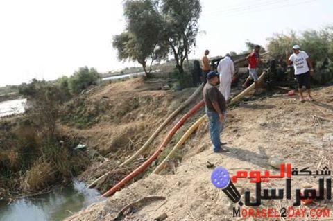 استعادة مياه شلالات محميات الفيوم بعد سرقتها