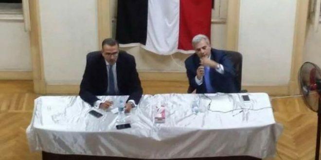 الدكتور جابر نصار فى حزب المصريين الأحرار