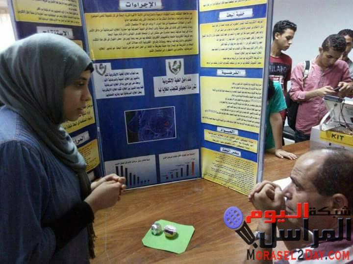 بالصور….. الطلاب الموهوبين بالتعليم الفني بالفيوم يتأهلون لمقابلة الرئيس عبدالفتاح السيسي…….