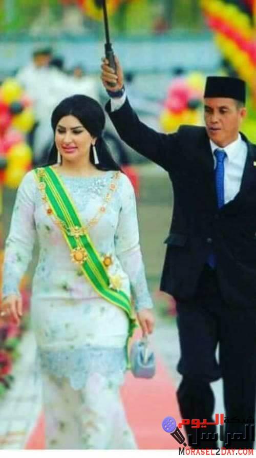 بالصور.. حاكم كوالالمبور يتزوج من لاجئة سورية ويعينها نائبة له.