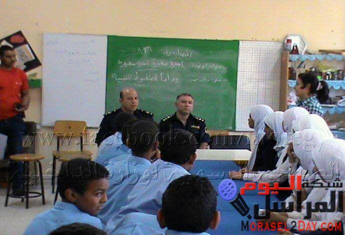 ( الحماية المدنية بالأقصر تقوم بعقد ندوات لتوعية طلاب المدارس بمخاطر الحرائق وكيفية التعامل مع الأجسام غريبة )