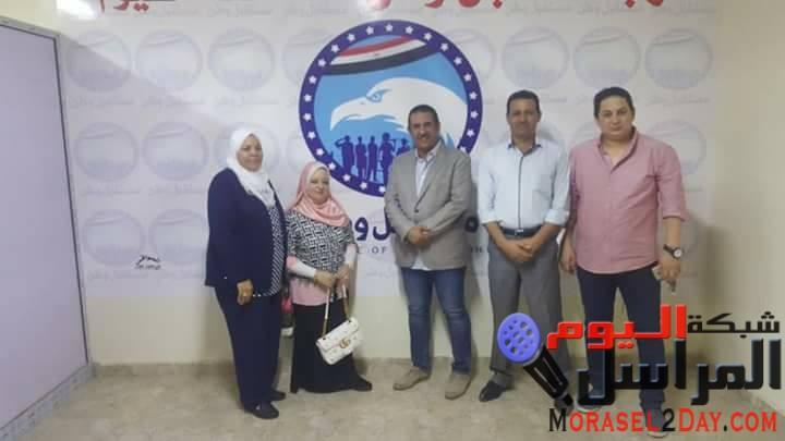 بالصور…مستقبل وطن بالفيوم يدشن حملة علشان نبنيها
