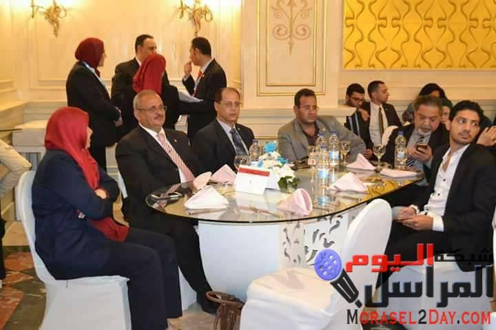 مؤسسة القادة تكرم مدير مركز النيل للاعلام بالفيوم