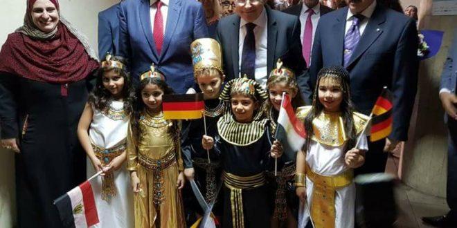 محافظ الدقهلية يستقبل السفير الألماني ،بمناسبة افتتاح المهرجان الألماني في دلتا النيل