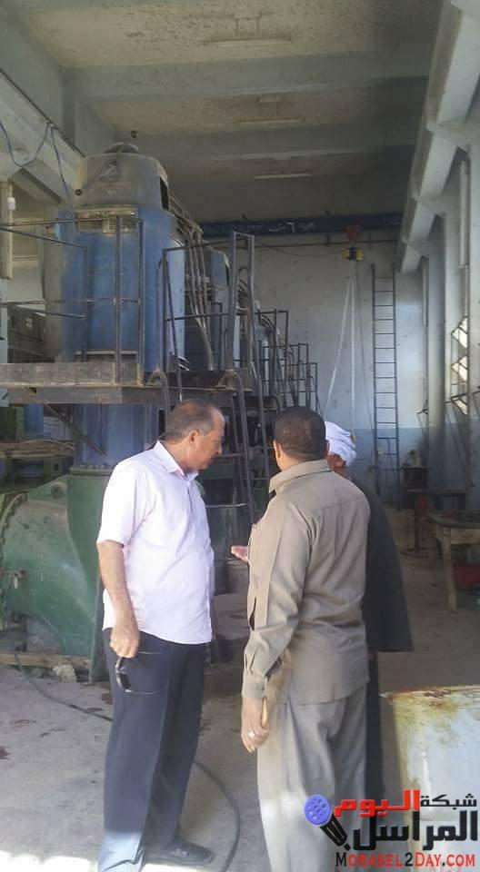 بالصور رئيس مدينه الفشن جنوب بنى سويف يتابع مشاكل القرى