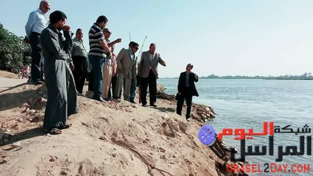 الرقابه الإداريه تكشف مخالفات جسيمة بقريه الحيبه جنوب بنى سويف