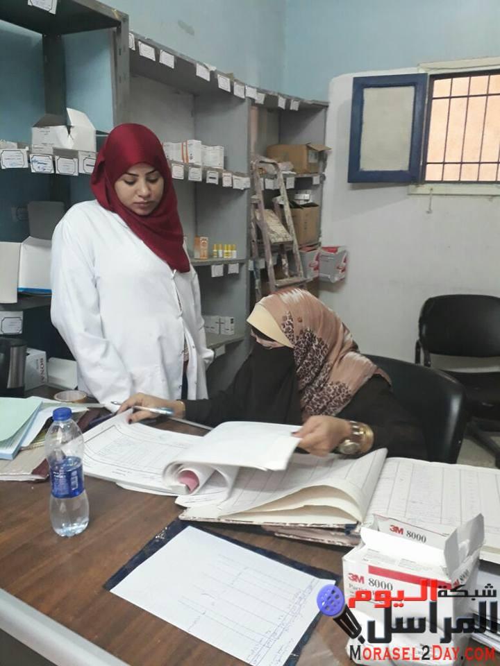 صحة الفيوم مرور مكثف على الوحدات الصحية بابشواى