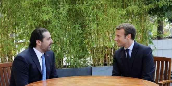 ماكرون ينفي طلب الحريري للجوء السياسي في فرنسا