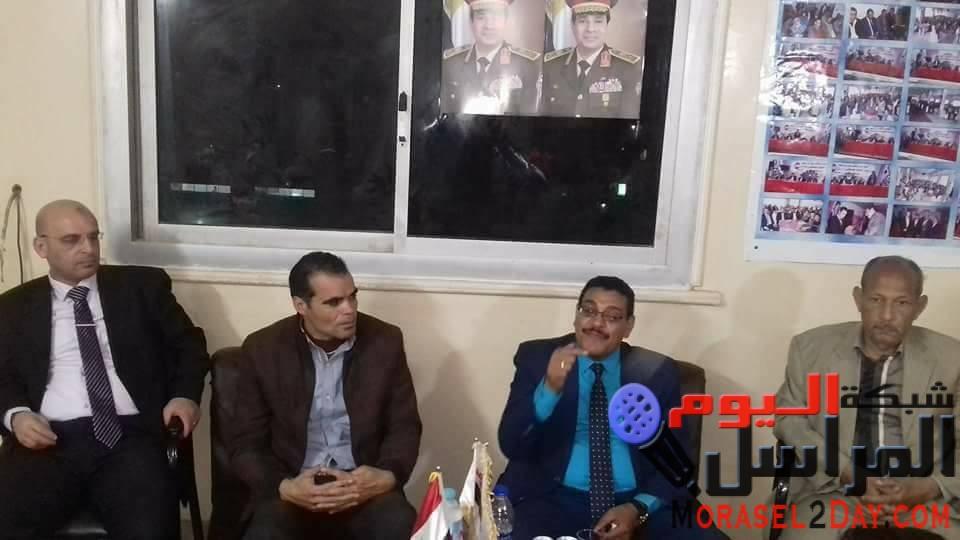 """بالصورمستقبل وطن بنى سويف يطلق الصالون السياسى الثالث بعنوان """" لماذا ندعم الرئيس"""""""