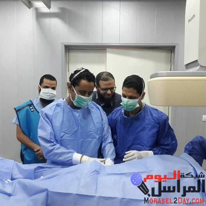 افتتاح أول وحدة لقسطرة القلب فى الفيوم بمستشفى طاميه المركزى