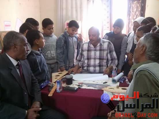 تنفيذ برنامج تنمية مهارات الرياضيات بمدرسة الإصلاح الزراعى بنجع حمادى