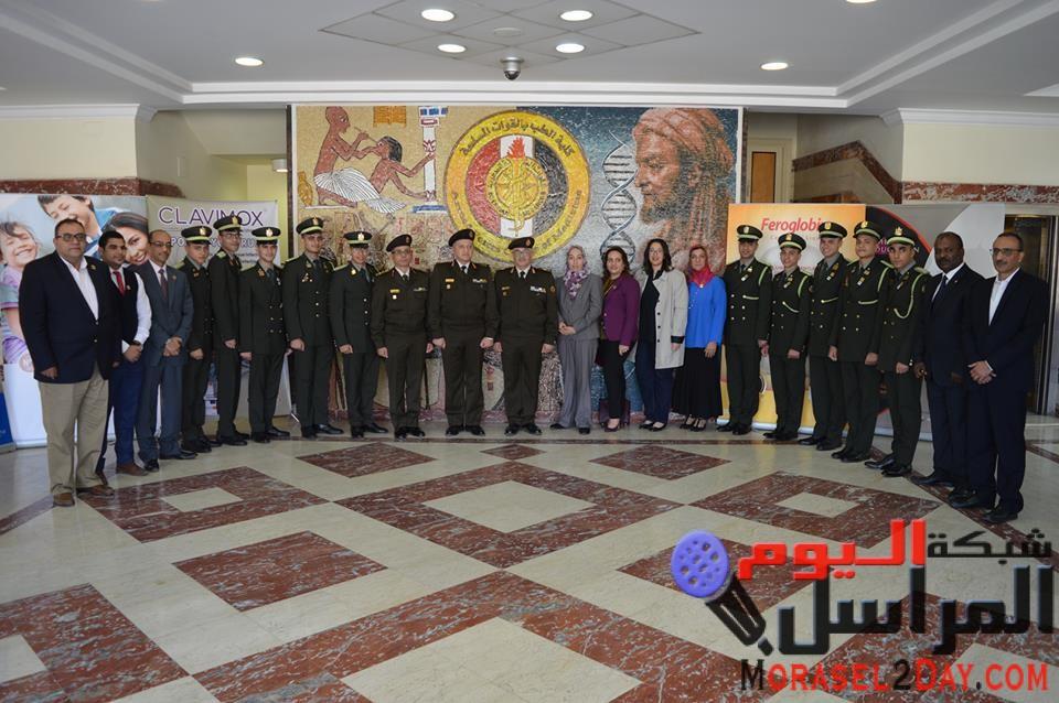 الفريق البحثى لكلية الطب بالقوات المسلحة يحصد المركز الأول بمسابقة igem العالمية للبحث العلمى …