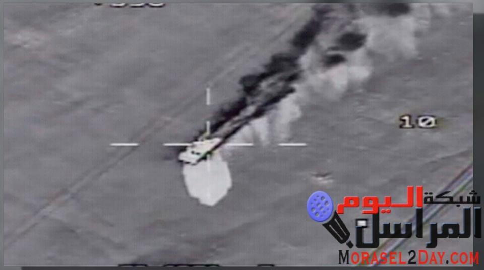 القوات الجوية تحبط محاولة جديدة لإختراق الحدود الغربية .. رصد وتدمير (10) سيارات دفع الرباعى محملة بالذخائر والأسلحة …