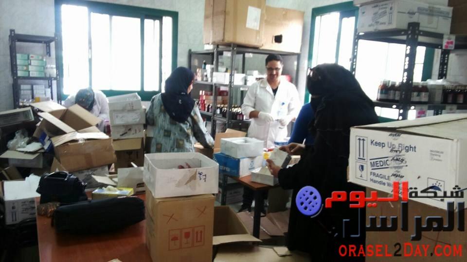 بالصور صحة الفيوم انطلاق فعاليات القافلة الطبية العلاجية بقرية ابودنقاش