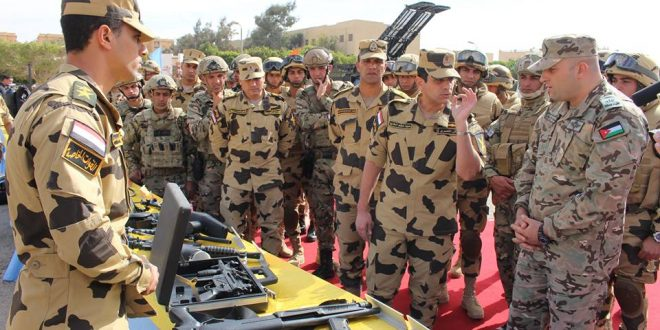 """إستمرار فعاليات التدريب المشترك المصرى الأردنى """" العقبة 3 """" …"""