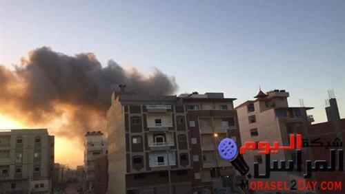 سكاى نيوز: استشهاد 50 مدنيا فى تفجير مسجد أثناء صلاة الجمعة بشمال سيناء