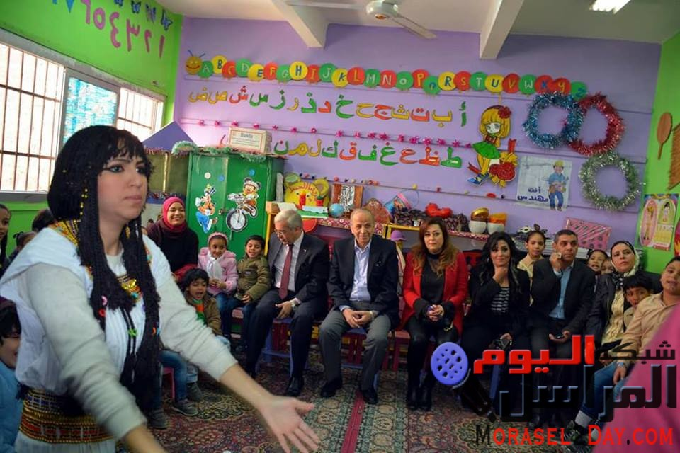 عشماوي وعجلان يشاركان في أولي إحتفالات مبادرة مؤسسة أحلى البلاد بمدرسة ابن خلدون الابتدائية …