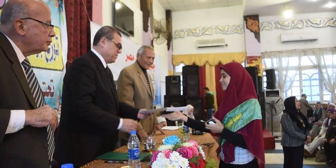 تكريم الفائزين في مسابقة «نصرة الدين وتبرئته من الدم والإرهاب» (صور)