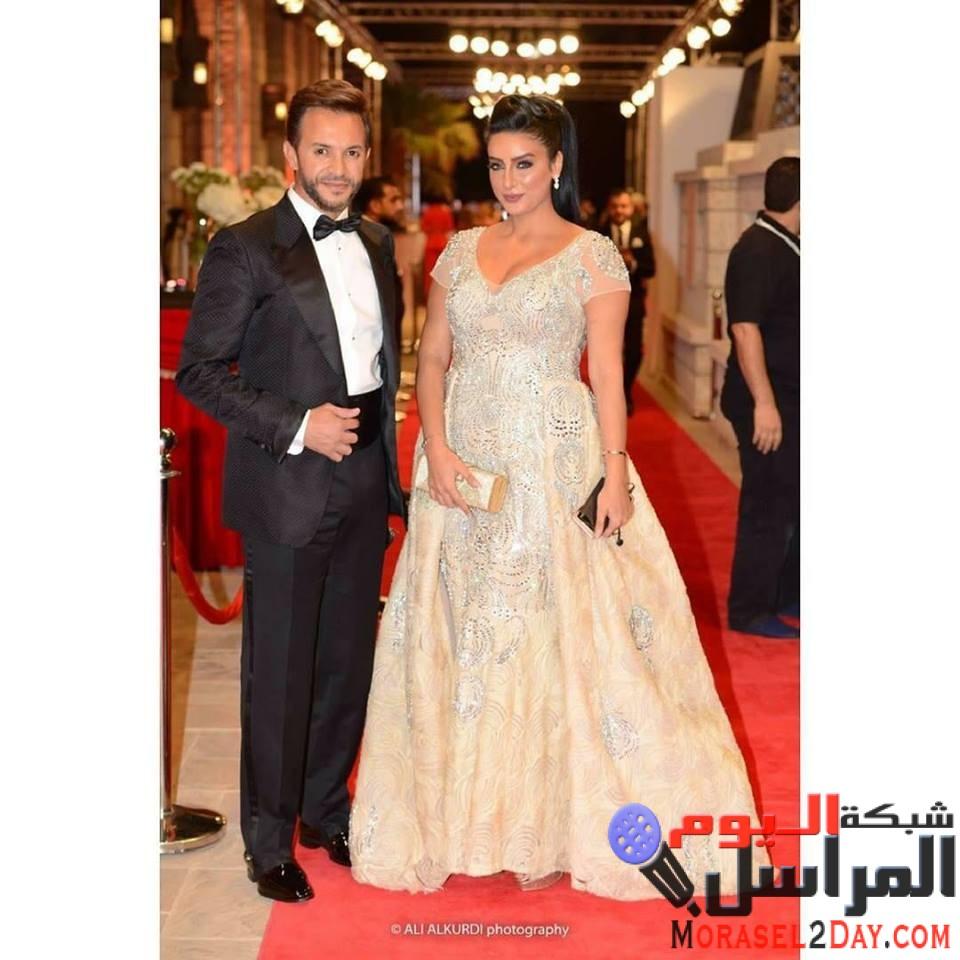 ظهور رجل الأعمال كريم ظريف بعد انفصاله عن مريم سعيد مع الإعلامية جوري بكر هل تجمعهما قصه حب !