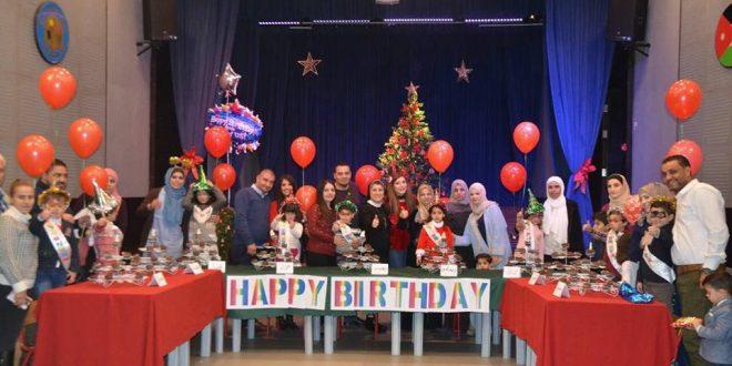 مدراس راهبات الوردية تقيم فعاليات احتفالية باعياد الميلاد