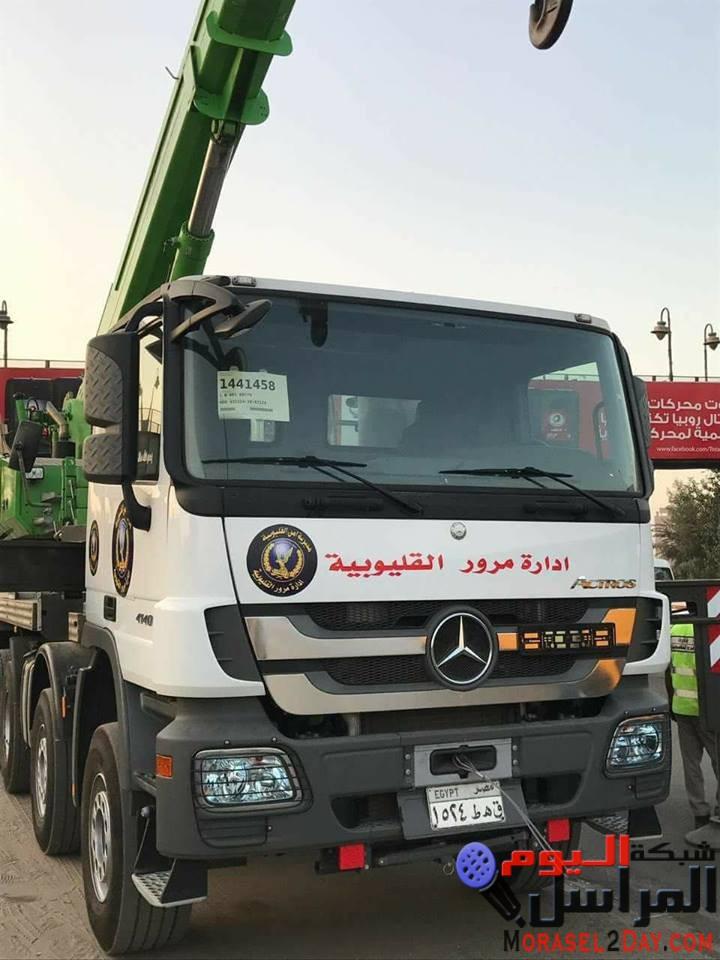 مرور القليوبية برئاسة اللواء محمد درويش يشن حملة مرورية مكبرة لإعادة الإنضباط بشوارع مدينة بنها.