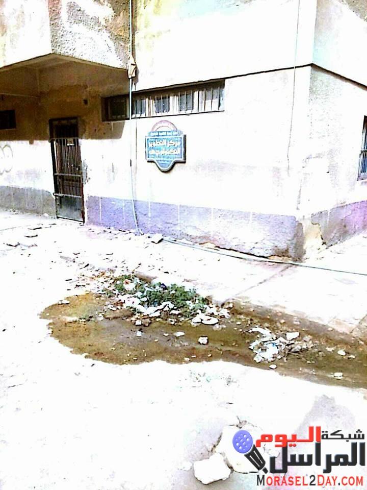 مبنى إدارة النزهة التعليمية خارج نطاق الخدمة.