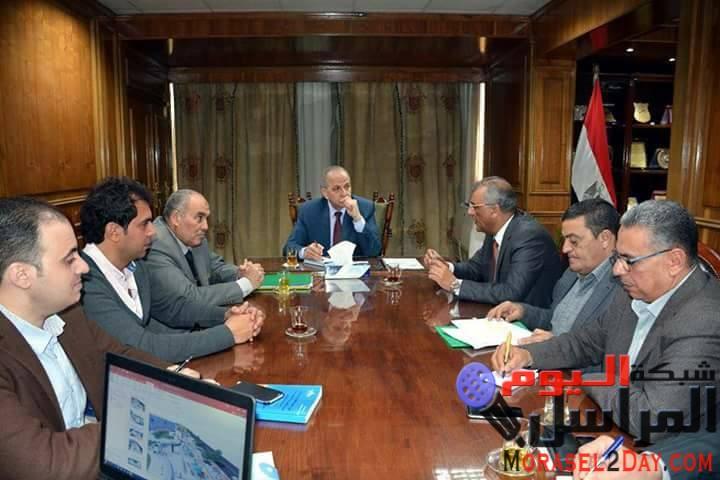 محافظ القليوبية : بدء الخطوات التنفيذية لتطوير كورنيش النيل بمدينة بنها
