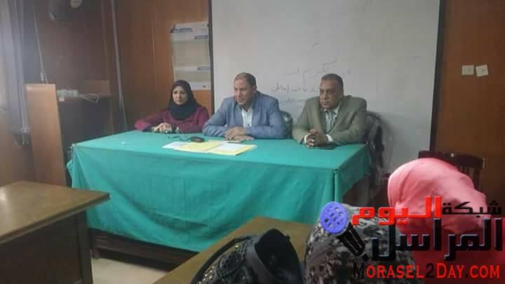 عقد الاجتماع الدوري لمديري الإدارات الصحية التابعة لمديرية الصحة بالقليوبية