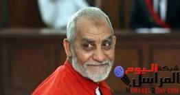استنفار أمني بالسجون تمهيدًا لتأييد حكم الإعدام على مرشد الاخوان بديع